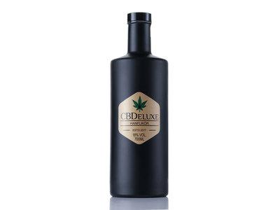 CBDeluxe Hanflikör Black Bottle 7dl